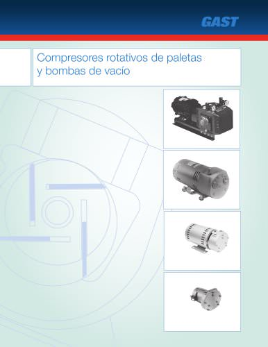 Compresores rotativos de paletas y bombas de vacio