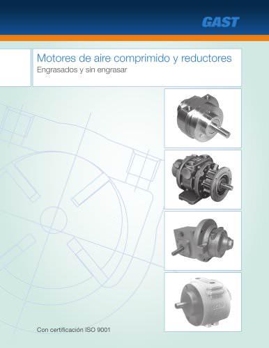 Motores de aire comprimido y reductores