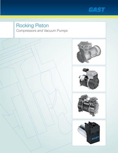 Rocking Piston Compressors and Vacuum Pumps