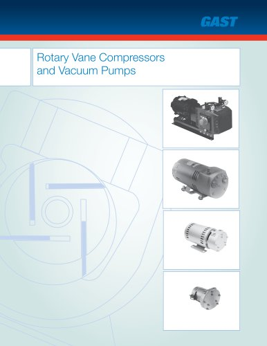 Rotary Vane Compressors  and Vacuum Pumps