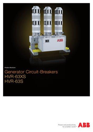 Generator Circuit-Breakers HVR-63XS HVR-63S