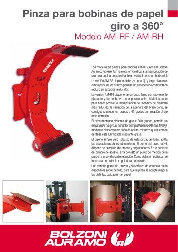 Pinza para bobinas Modelos AM-RF / AM-RH