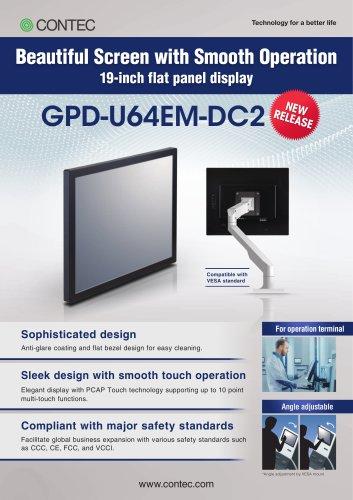 19-inch Touch Screen LCD for VESA mount   GPD-U64EM-DC2
