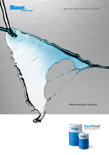 Water-miscible coolants