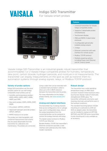 Indigo 520 Transmitter