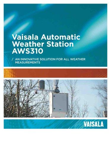 Vaisala Automatic Weather Station AWS310