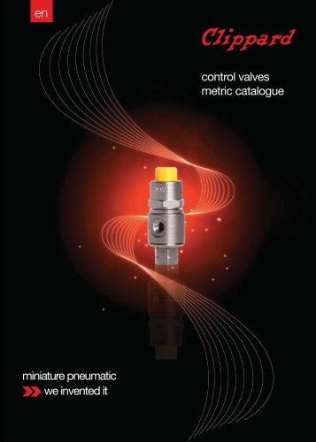 Clippard Metric Control Valves Catalogue