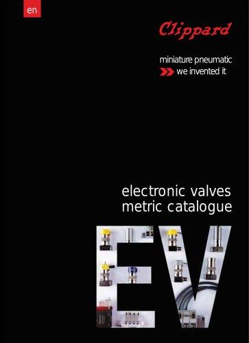 electronic valves metric catalogue