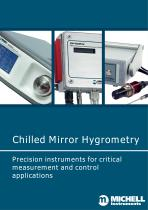 Chilled Mirror Hygrometry