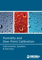 Humidity and Dew-Point Calibration