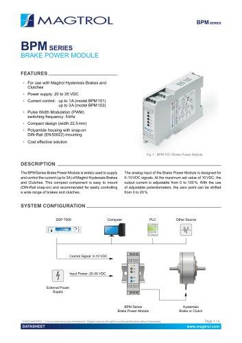 BPM Series | Brake Power Module