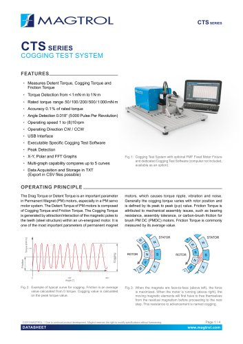 CTS Series | Cogging Test System