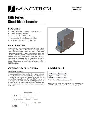 EMA Series Stand Alone Encoder