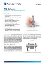 MB-02 Series   Miniature Load Measuring Pins