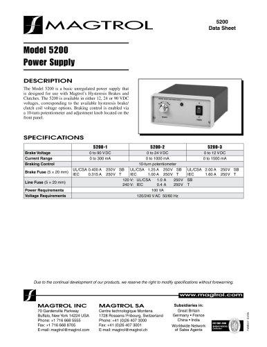 Model 5200