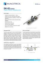 SK-02 Series   Cable force Transducer