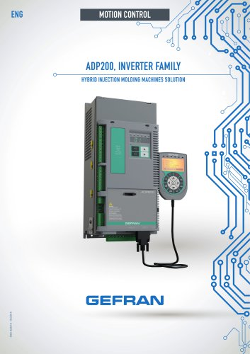 ADP200, INVERTER FAMILY - HYBRID INJECTION MOLDING MACHINES SOLUTION