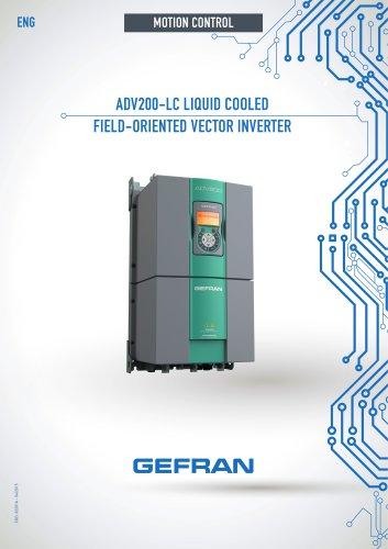 ADV200-LC - LIQUID COOLED FIELD-ORIENTED VECTOR INVERTER