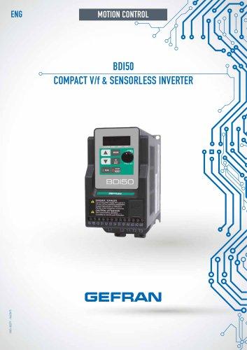 BDI50 - COMPACT V/f & SENSORLESS INVERTER