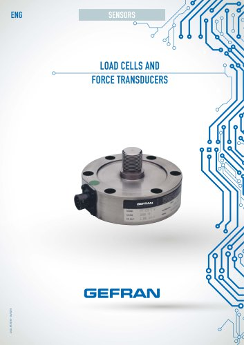 LOAD CELLS AND FORCE TRANSDUCERS