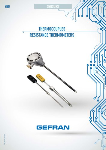 THERMOCOUPLES RESISTANCE THERMOMETERS