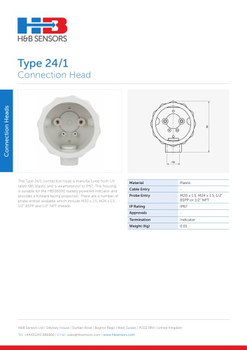 Connection Heads Type 24-1
