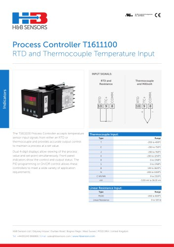 Process Controller T1611100