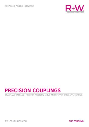 Precision couplings catalog