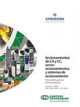 Accionamientos de CA y CC, servoaccionamientos y sistemas de accionamiento | Descripción general de los productos