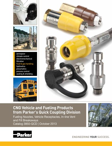 CNG Vehicle and Fueling Products  from Parker's Quick Coupling Division