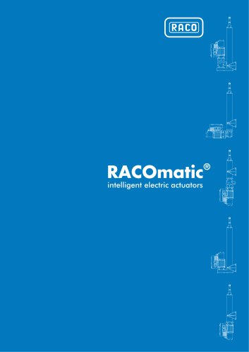 RACOmatic® intelligent electric actuators