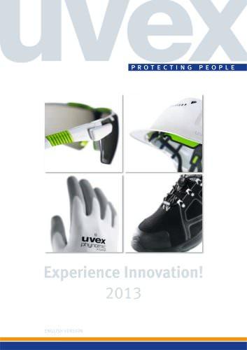 uvex Experience Innovation Catalogue 2013