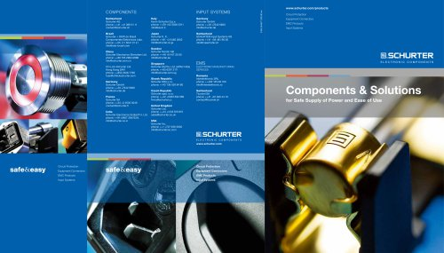 Components & Solutions, Cover
