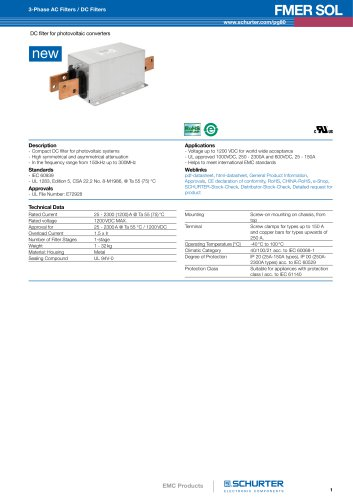New products: EMC Products/FMER SOL