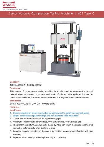 HCT-C Compression Testing Machine