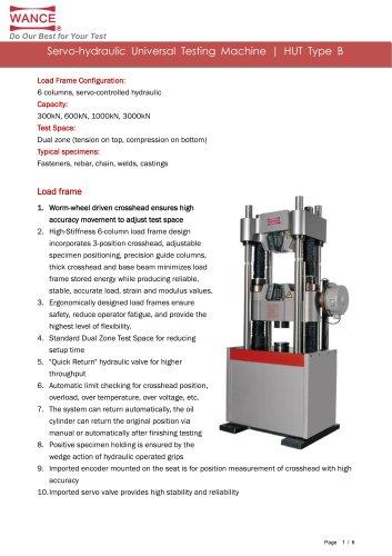 Universal Testing Machine (300kN~3000kN)