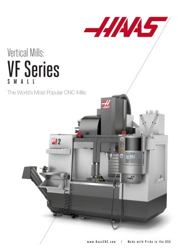 Haas Small Vertical Machining Centers