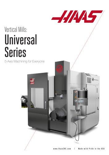 Haas Universal Machining Centers