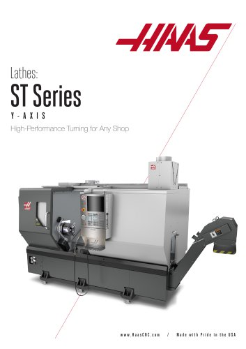 Haas Y-axis Turning Centers