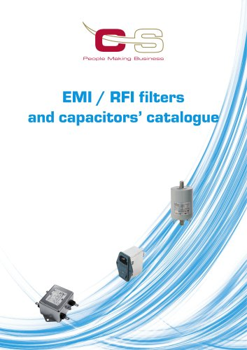 EMI/RFI FILTERS AND CAPACITOR
