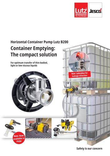 Horizontal Container Pump B200