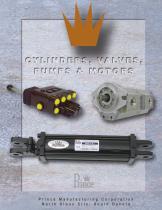 cylinders, valves catalog