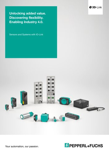 Sensors and Systems with IO-Link