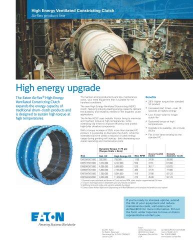 Airflex High Energy Ventilated Clutch