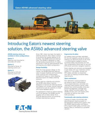 Eaton ASV60 advanced steering valve