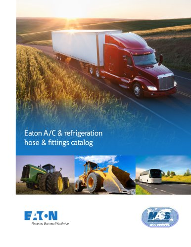 Eaton A/C & refrigeration hose & fittings catalog