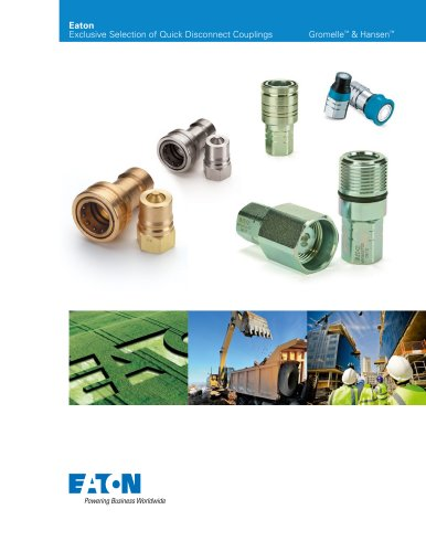 Eaton Exclusive Selection of Quick Disconnect Couplings Publication Dat