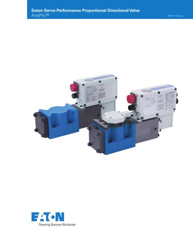 Eaton Servo-Performance Proportional Directional Valve