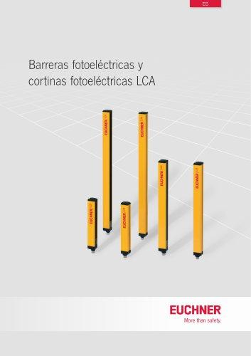 Barreras fotoeléctricas y cortinas fotoeléctricas LCA
