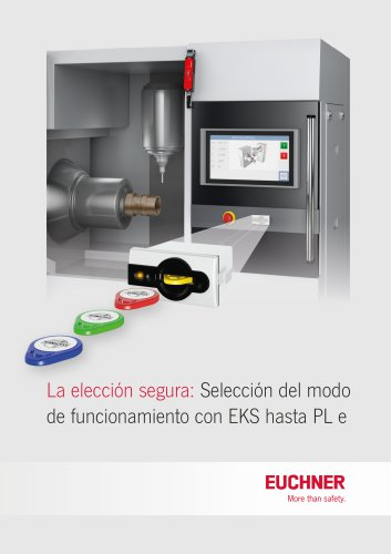 EKS con pantalla táctil